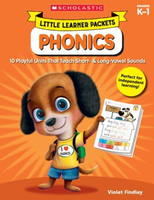 Little Learner Packets: Phonics: 10 Playful Units That Teach Short- & Long-Vowel Sounds  -     By: Violet Findley