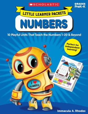 Little Learner Packets: Numbers: 10 Playful Units That Teach the Numbers 1-20 & Beyond  -     By: Immacula Rhodes