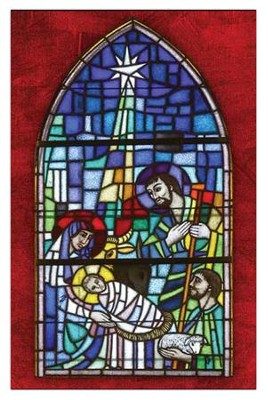 Stained Glass Nativity, Box of 20 Cards  -
