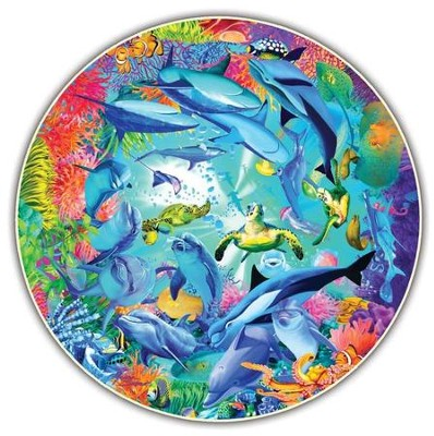 Underwater World, 500 Piece Round Puzzle   -     By: Michael Searle