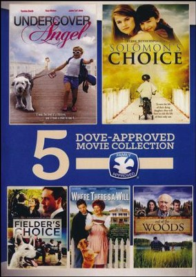 Faith AND Family 5 Movies, Volume 1: Out of the Woods, Where Theresa Will, Fielder's Choice, Solomon's Choice, and  Undercover Angel  -