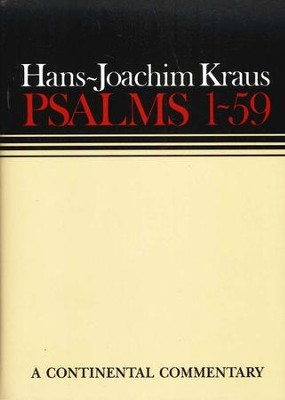 Psalms 1-59, Continental Commentary Series   -     By: Hans-Joachim Kraus