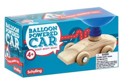 Balloon Powered Car  -