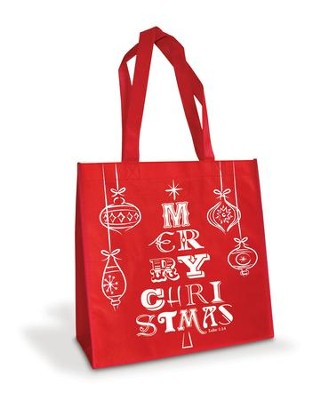 Merry Christmas Tree, Eco Tote Bag   -