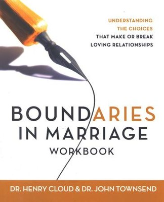 Boundaries in Marriage Workbook  - Slightly Imperfect  -