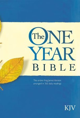 The One Year Bible KJV - eBook  -