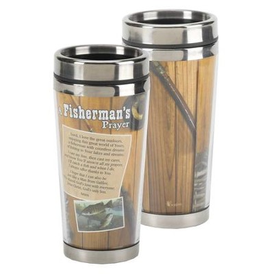 A Fisherman's Prayer Stainless Steel Travel Mug  -