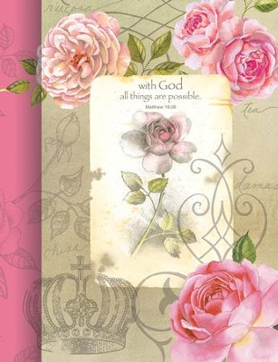 With God, All Things Are Possible Journal  -     By: Sandy Lynam Clough