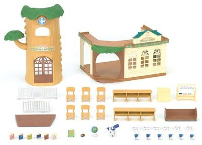 Calico Critters, Country Tree School  -