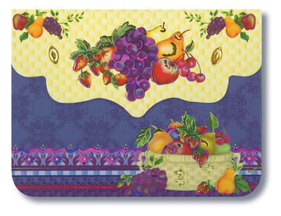 Fruit Basket, Purse Pad  -