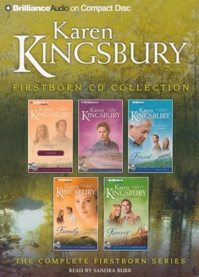 Karen Kingsbury Firstborn CD Collection: Fame, Forgiven, Found, Family, Forever - abridged audiobook  -     Narrated By: Sandra Burr     By: Karen Kingsbury