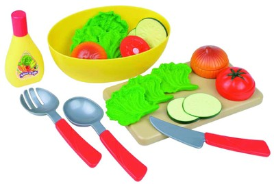 Let's Make A Salad Play Set  -