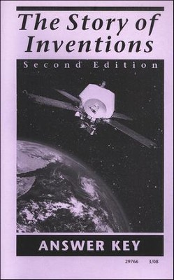 The Story of Inventions, Second Edition, Answer Key, Grade 6   -     By: Frank P. Bachman