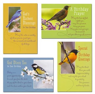 Flights of Fancy, Birthday Cards, Box of 12  -