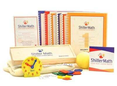 ShillerMath Kit 1 Basic (Grades Pre-K through Grade 3)   -