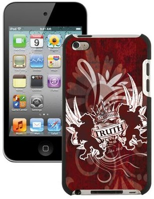 Truth Lion, John 14:6 iPod 4G Case, Red  -