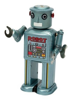 Mechanical Tin Robot  -