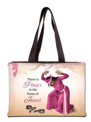 There is Power in the Name of Jesus, Handbag  -