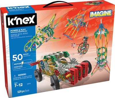 K'nex 50-Model Power & Play Motorized Building Set   -