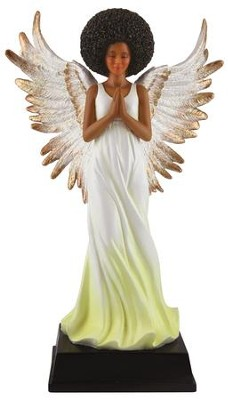 Angel Figurine, Yellow  -
