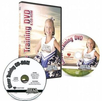 MEGA Sports Camp: Cheer Training DVD & CD-ROM   -
