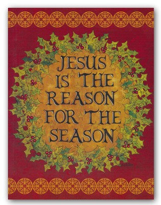Jesus Is the Reason For the Season, Christmas Cards, Box of 18  -