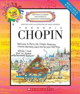 Frederic Chopin, Revised Edition   -     By: Mike Venezia