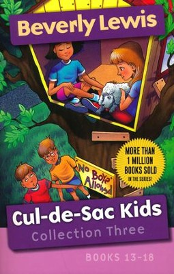 Cul-de-Sac Kids Collection Three: Books 13-18   -     By: Beverly Lewis