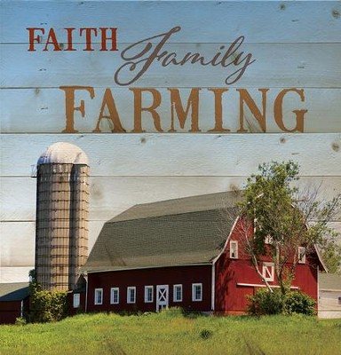 Faith, Family, Farming, Lath Wall Art  -