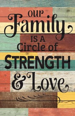 Circle of Strength and Love, Rustic Wall Art  -