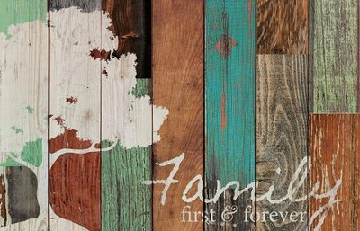 Family, Rustic Wall Art  -