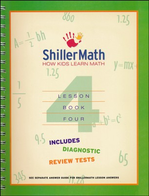 ShillerMath Lesson Book 4   -