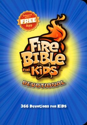Fire Bible for Kids Devotional  -     By: My Healthy Church