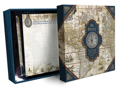 Nautical, Memo Pad and Pen Stationery Set  -