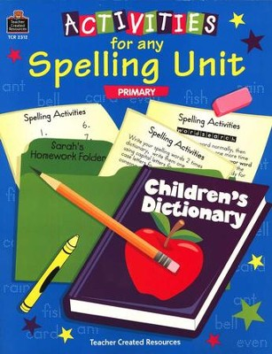 Activities for Any Spelling Unit   -