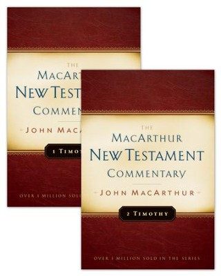 1 & 2 Timothy MacArthur New Testament Commentary Set - eBook  -     By: John F. MacArthur