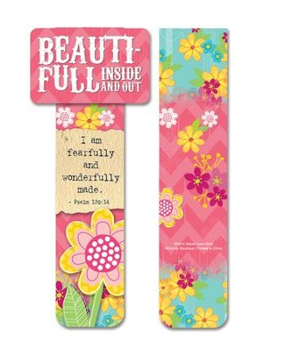 Beautiful, Magnet Bookmark  -