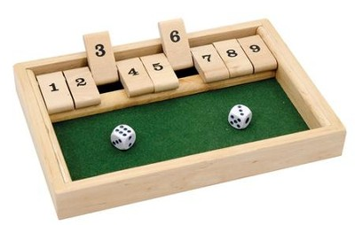 Shut The Box Game  -