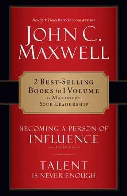 Maxwell 2 in 1: Becoming a Person of Influence & Talent Is Never Enough: Becoming a Person of Influence & Talent Is Never Enough - eBook  -     By: John Maxwell