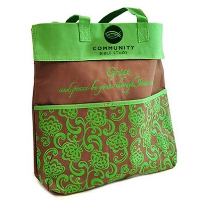Community Bible Study, Grace and Peace, Tote   -