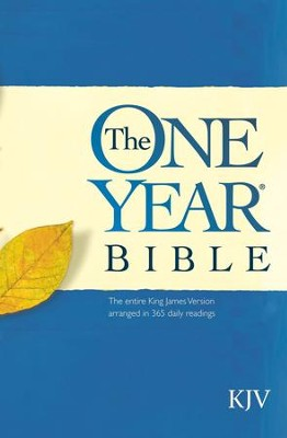 One Year Bible KJV  -