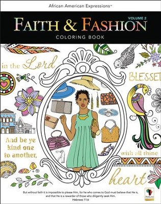 Faith & Fashion Coloring Book, Volume 2  -     By: G Perkins