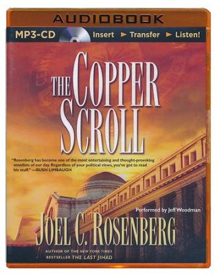The Copper Scroll - unabridged audiobook on MP3-CD   -     Narrated By: Jeff Woodman     By: Joel Rosenberg