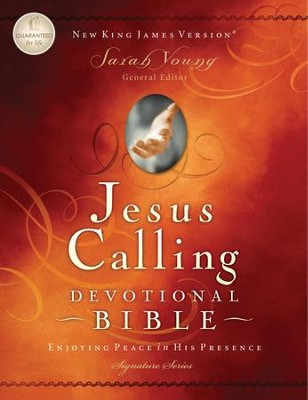 Jesus Calling Devotional Bible, NKJV: Enjoying Peace in His Presence - eBook  -