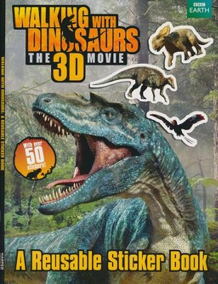 Walking with Dinosaurs Giant Sticker Book  -     By: Jane Stevens