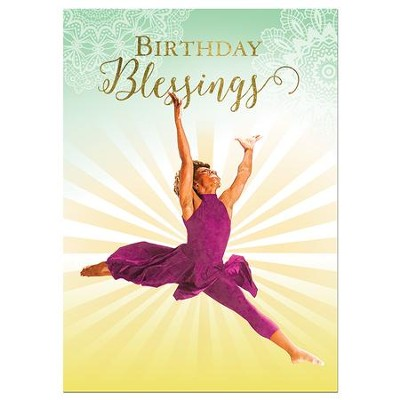Birthday Blessings Cards, Box of 6  -
