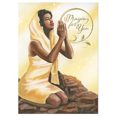 Praying for You Cards, Box of 6  -     By: Keith Connor