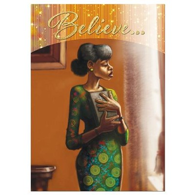 Believe Encouragement Cards, Box of 6  -     By: Keith Connor