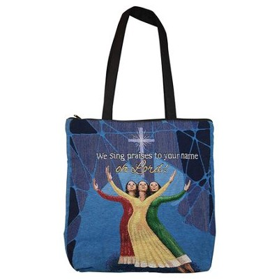 We Sing Praises to your name of Lord! Tote Bag  -