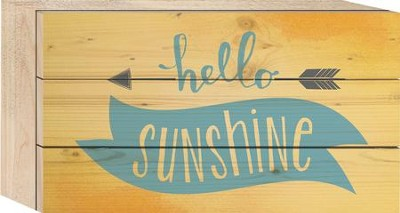 Hello Sunshine Tabletop Art  -
